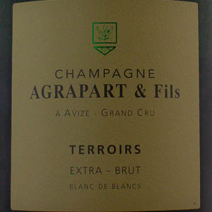 Champagne Agrapart Cuvée Terroirs Extra-Brut