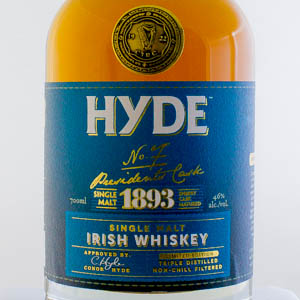 Whisky Hyde n°7 1893 6 ans Finition fût de Sherry