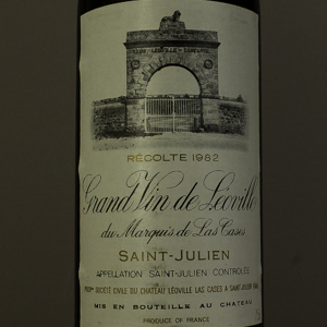 Saint Julien Château Leoville Las Cases 1982  Rouge