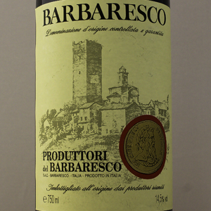 Piémont Barbaresco Producteurs de Barbaresco 2012 Rouge