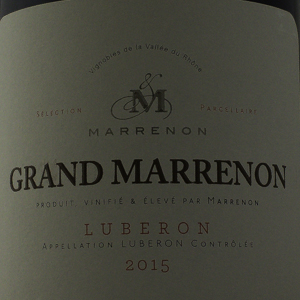 Côtes du Lubéron Grand Marrenon 2015 Rouge