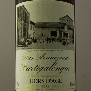 Bas Armagnac Dartigalngue Hors Age 40% 70 cl