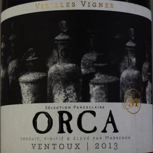 Côtes du Ventoux Cellier de Marrenon ORCA 2013 Rouge 75 cl