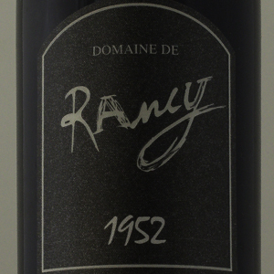 Rivesaltes Ambré Domaine de Rancy 1952