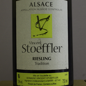 Riesling Tradition Domaine Stoeffler 2016 Blanc