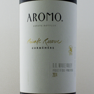 Chili Aromo Carmenere Private Reserve 2014 Rouge