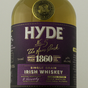 Hyde n°5 single grain 6 ans finition en fût de bourgogne