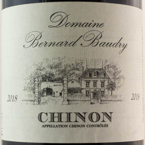 Chinon Domaine Bernard Baudry 2018 Rouge