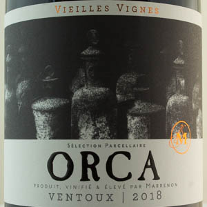 Côtes du Ventoux Cellier de Marrenon ORCA 2018 Rouge