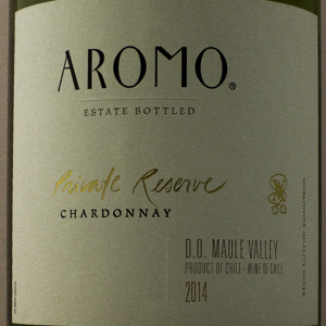 Chili Aromo Chardonnay Private Reserve 2014 Blanc 75 cl