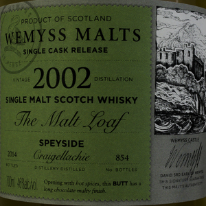 Whisky Ecosse Speyside Wemyss Single Malt 2002 46%