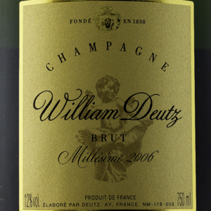 Champagne William Deutz Brut 2006