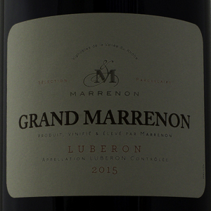 Côtes du Luberon Grand Marrenon 2015 Rouge