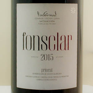 Fonsclar Priorat l'Infernal 2015 rouge