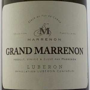 Côtes du Luberon Grand Marrenon 2018 Blanc