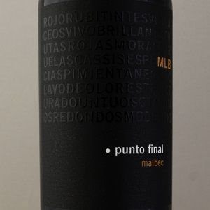 Argentine Punto Final Malbec Classico 2018 Rouge