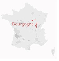 Carte Bourgogne France