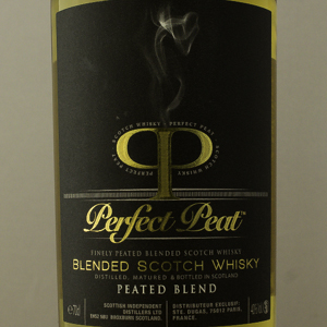 Whisky Ecosse Perfect Peat Blended Malt 10 ans 40%