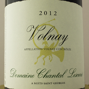 Volnay Domaine Chantal Lescure 2012 Rouge