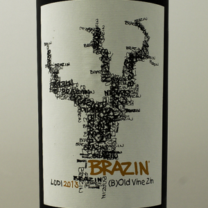 USA Californie Brazin Zinfandel Lodi 2013 Rouge 75 cl