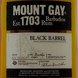 Rhum Mount Gay Black Barrel Barbados 43 %
