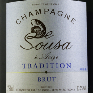 Champagne De Sousa Brut Tradition 75 cl