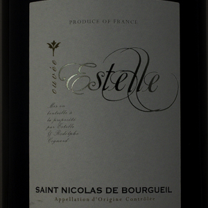 Saint Nicolas de Bourgueil Estelle 2015 Rouge 75 cl