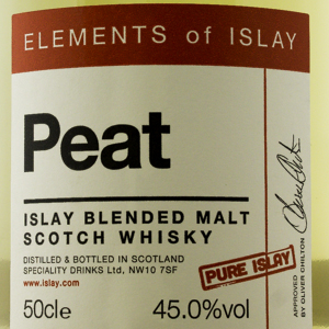 Whisky Ecosse Elements of Islay Peat Pure Islay 45%