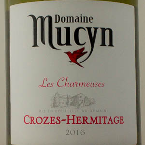 Crozes-Hermitage Dom. Mucyn Les Charmeuses 2016 Blanc