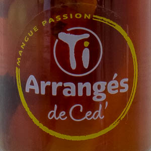 Rhum Arrangé Les Rhums de Ced' Mangue Passion 32%