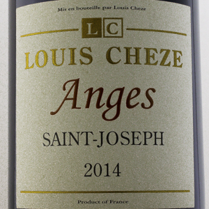 Saint Joseph Louis Chèze Anges 2014 Rouge