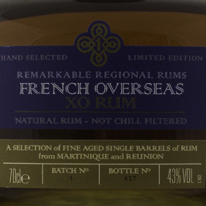 Rum & Cane French Overseas X.O 43%