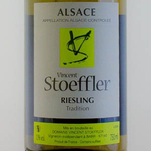 Riesling Tradition Domaine Stoeffler 2017 Blanc