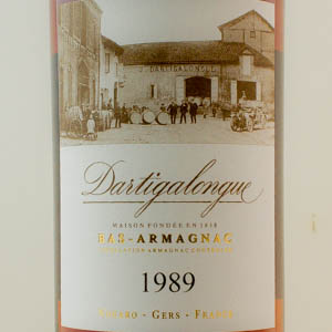 Bas-Armagnac Dartigalongue 1989 40 %