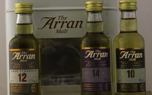 Coffret Whisky Ecosse Arran Triple Pack 48,4% 3 X 5 cl