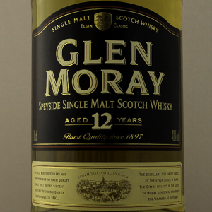 Whisky Ecosse Speyside Glen Moray 12 ans 40%