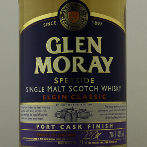 Whisky Ecosse Speyside Glen Moray Port Cask Finish 43%