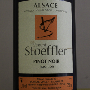 Pinot Noir Tradition Domaine Stoeffler 2018 Rouge
