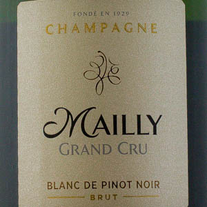Champagne Mailly Grand Cru Blanc de Noirs