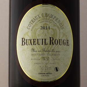 Côteaux Champenois Champagne Moutard Buxeuil 2011 Rouge