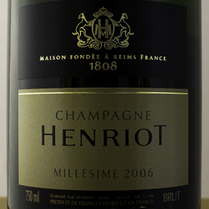 Champagne Henriot Millesime 2006 75 cl