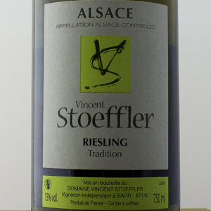 Riesling Tradition Domaine Stoeffler 2015 Blanc