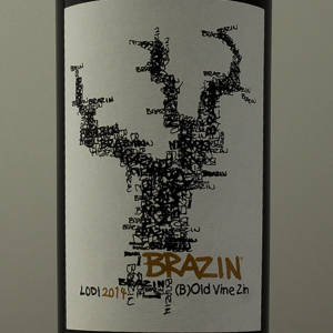 USA Californie Brazin Zinfandel Lodi 2014 Rouge