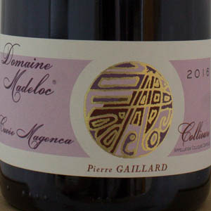 Collioure rouge Domaine Madeloc cuvée magenca 2016