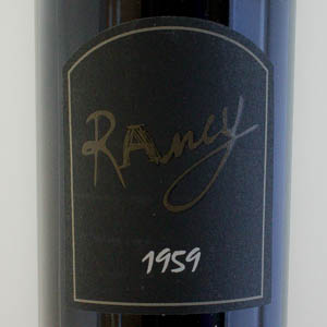 Rivesaltes Ambré Domaine de Rancy 1959