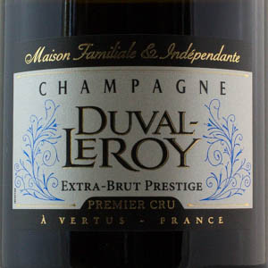 Champagne Duval Leroy Extra Brut Prestige