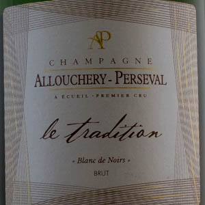 Champagne Allouchery Perseval Tradition 75 cl