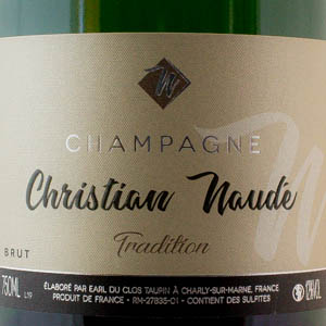 Champagne Christian Naude Tradition Brut 75 cl