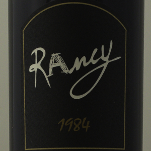 Rivesaltes Ambré Domaine de Rancy 1984