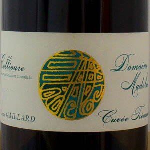 Collioure Blanc Domaine Madeloc cuvée Tremadoc 2018